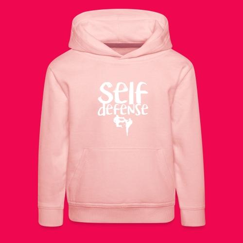 Self Defense 1.0 - Kinder Premium Hoodie