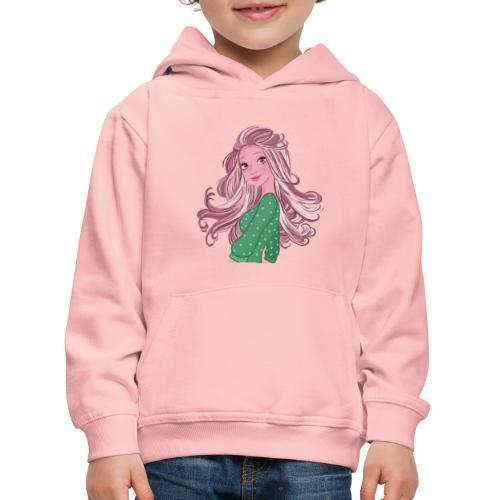 Girl power Holly - Pull à capuche Premium Enfant