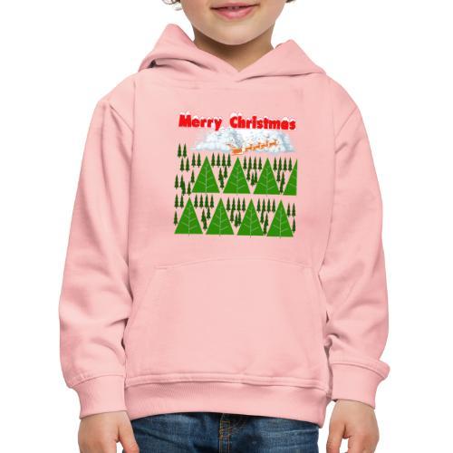#natale, #christmas e amore per la famiglia - Felpa con cappuccio Premium per bambini