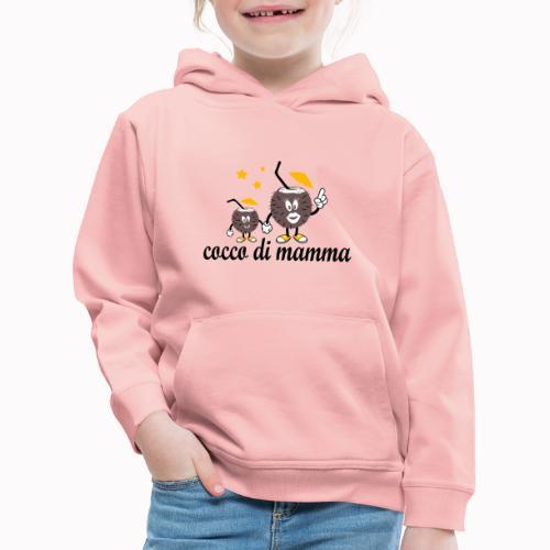 cocco di mamma - Felpa con cappuccio Premium per bambini