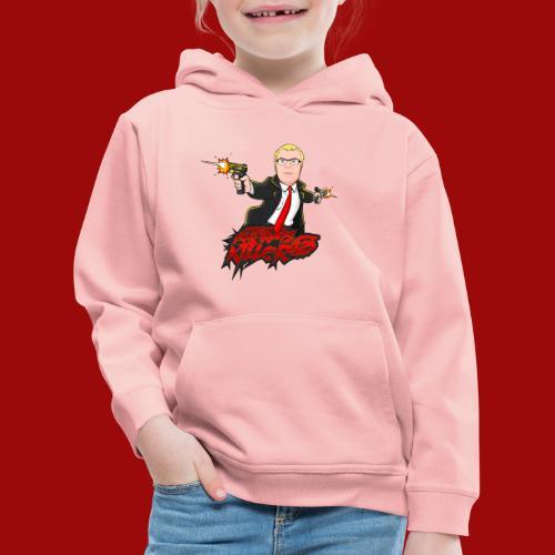 Auftragskillerx2 Comic Desing - Kinder Premium Hoodie