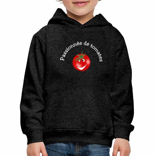 Passionnée de tomates - Kids' Premium Hoodie