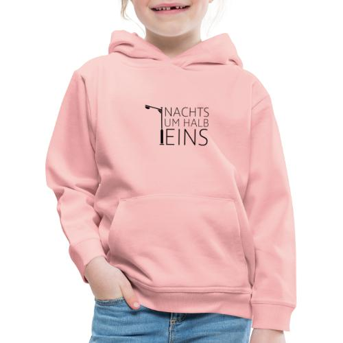 NACHTS UM HALB EINS / Laterne / - Kinder Premium Hoodie