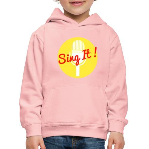 Sing it! - Kinderen trui Premium met capuchon