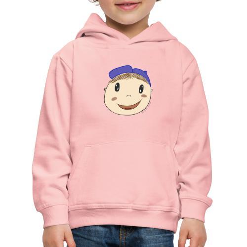 Junge mit Baseballkappe - Kinder Premium Hoodie