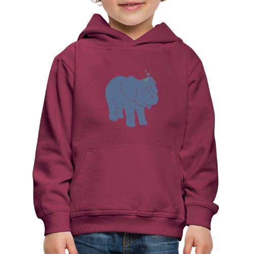 Little elephant - Kinder Premium Hoodie