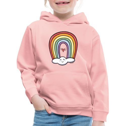 ARCOIRIS - Sudadera con capucha premium niño