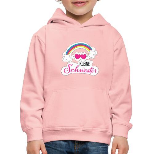 Kleine Schwester Regenbogen - Kinder Premium Hoodie