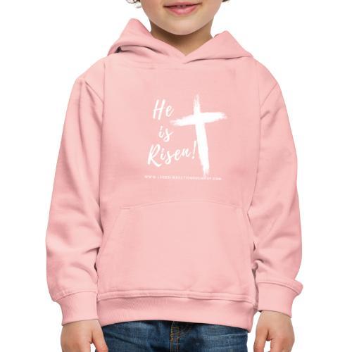 He is Risen ! V2 (Il est ressuscité !) - Pull à capuche Premium Enfant