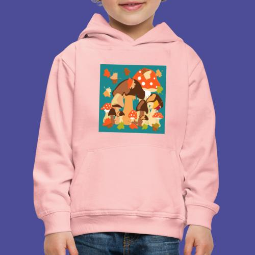 Pilze - Kinder Premium Hoodie