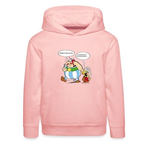 Asterix & Obelix boudeur - Pull à capuche Premium Enfant
