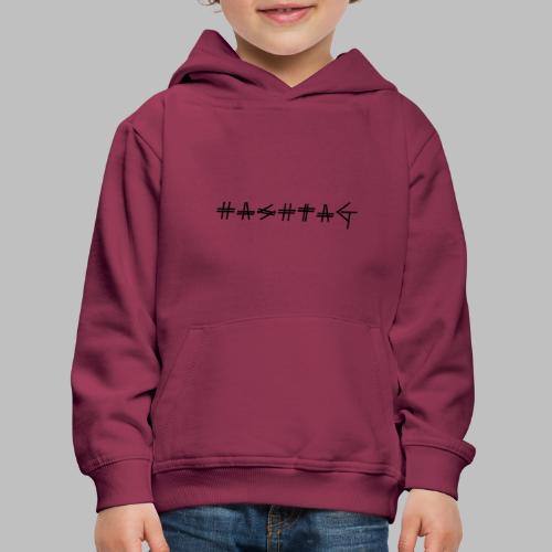 Hashtag - Kids' Premium Hoodie