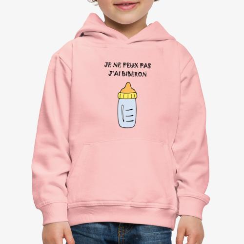 biberon 2 - Pull à capuche Premium Enfant