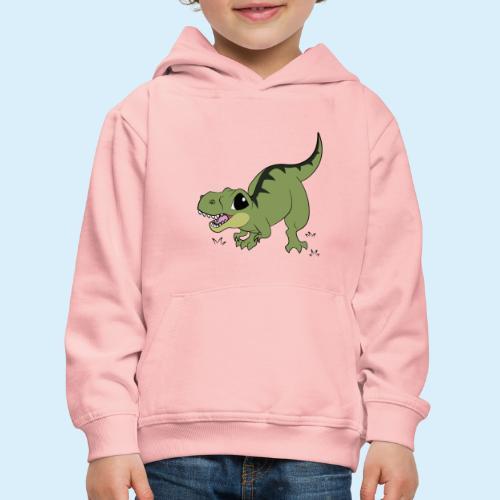 Cartoony TRex - Kinder Premium Hoodie