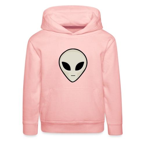UFO Alien Head - Kids' Premium Hoodie