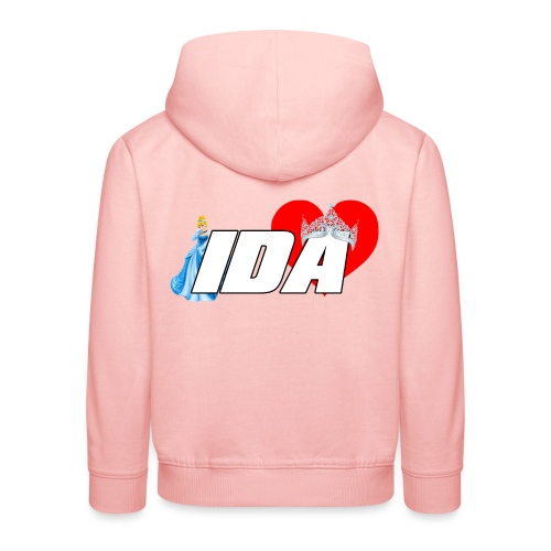 Ida Logo - Premium Barne-hettegenser