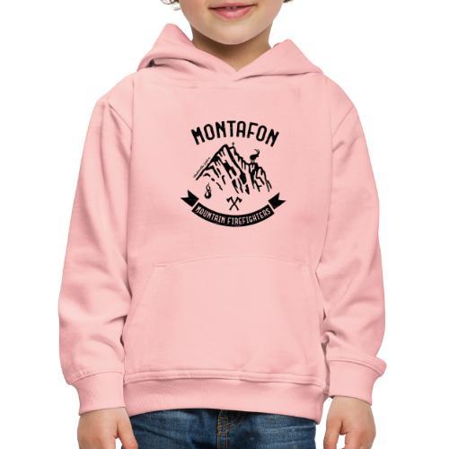 Montafon-Edition in Schwarz - Kinder Premium Hoodie