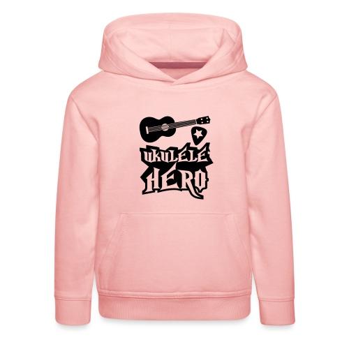 Ukelele Hero - Kids' Premium Hoodie