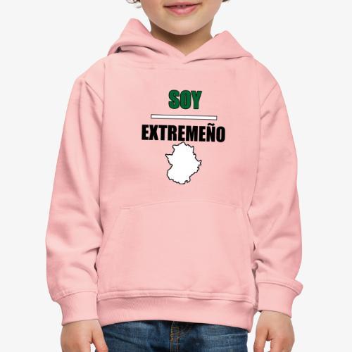 Soy Extremeño. - Sudadera con capucha premium niño