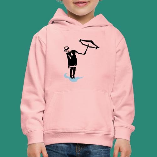Regenschirmfrau - Kinder Premium Hoodie