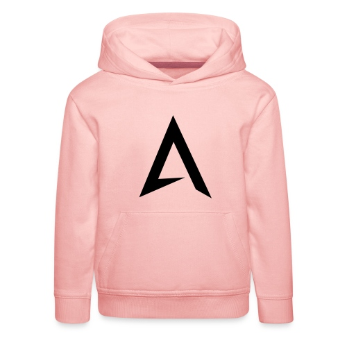 alpharock A logo - Kids' Premium Hoodie