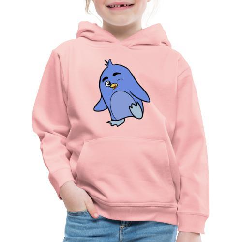 Pinguino - Felpa con cappuccio Premium per bambini