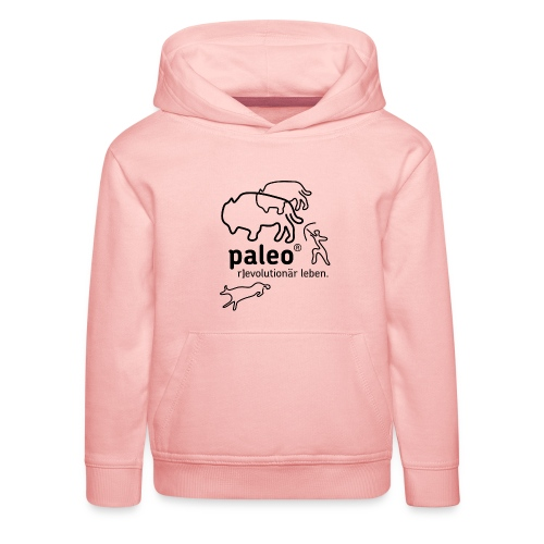 Paleo r evolutionär Illu - Kinder Premium Hoodie