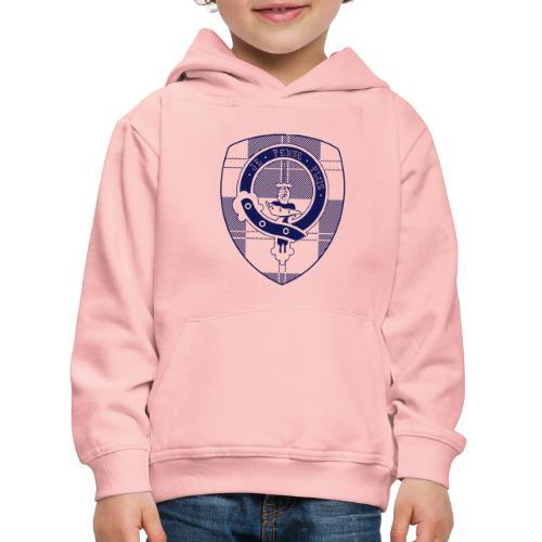Logo Scouting Erskine 2018 - Kinderen trui Premium met capuchon