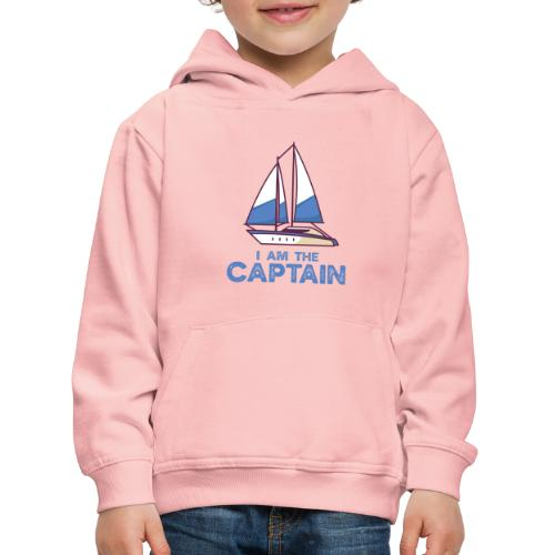 I am the captain - Kinder Premium Hoodie