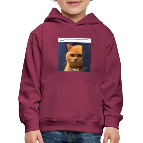 Cat nalgadas - Sudadera con capucha premium niño