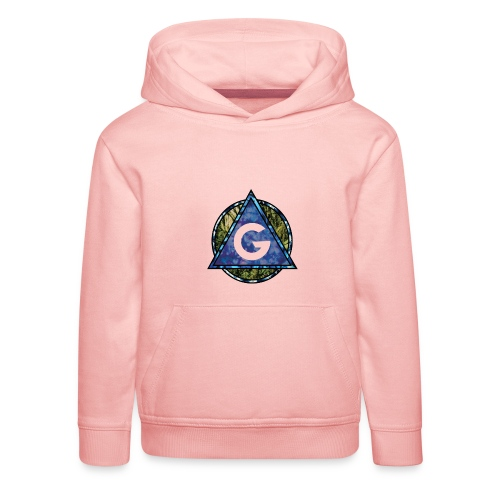 Grime Apparel Geo Print. - Kids' Premium Hoodie