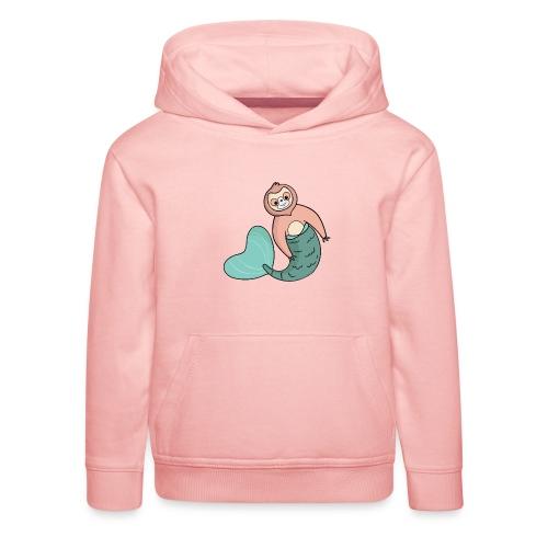 Faultier-Meerjungfrau - Kinder Premium Hoodie