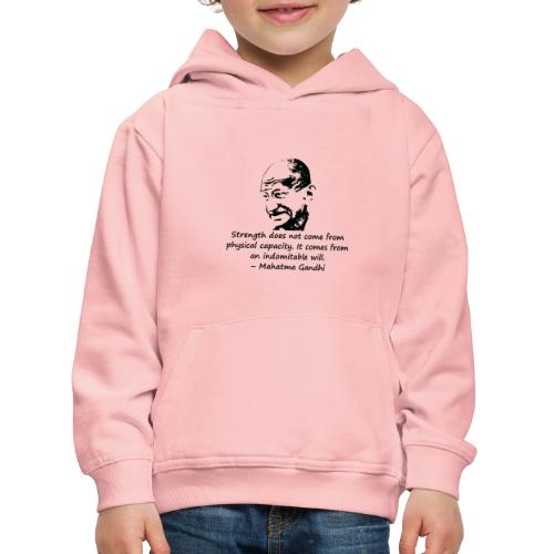 Strength Comes from Will - Kids' Premium Hoodie