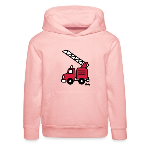 Feuerwehrauto (c) - Kinder Premium Hoodie