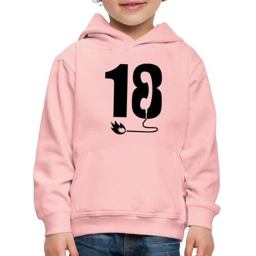 18 - Pull à capuche Premium Enfant