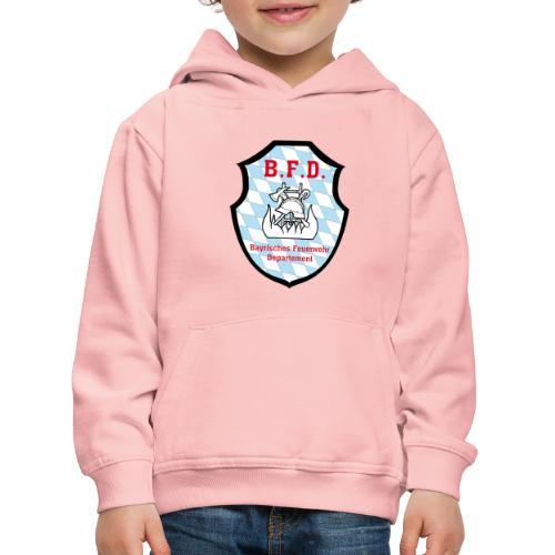 Inoffizielles bayrisches Feuerwehrabzeichen - Kinder Premium Hoodie