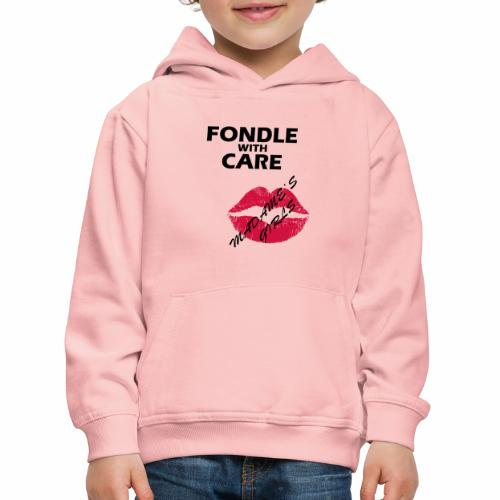 Fondle with Care - Kids' Premium Hoodie