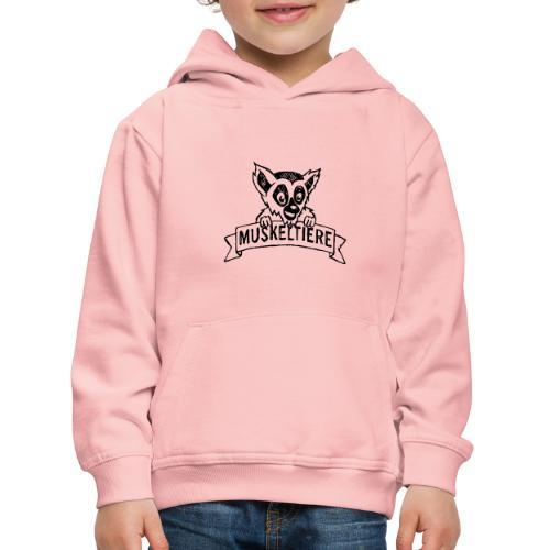 MUSKELTIERE_Logo_black - Kinder Premium Hoodie