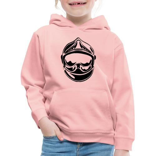 casque_face_2 - Pull à capuche Premium Enfant