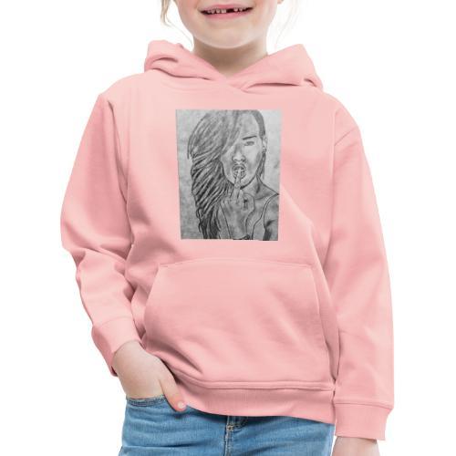 Jyrks_kunstdesign - Premium hættetrøje til børn