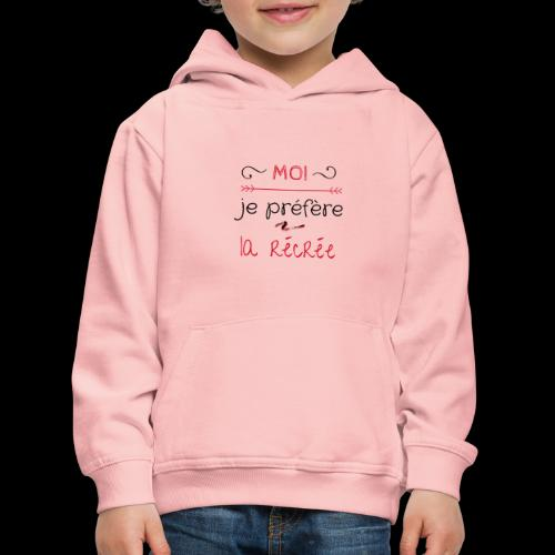 Tee-shirt rentrée des classes - Pull à capuche Premium Enfant