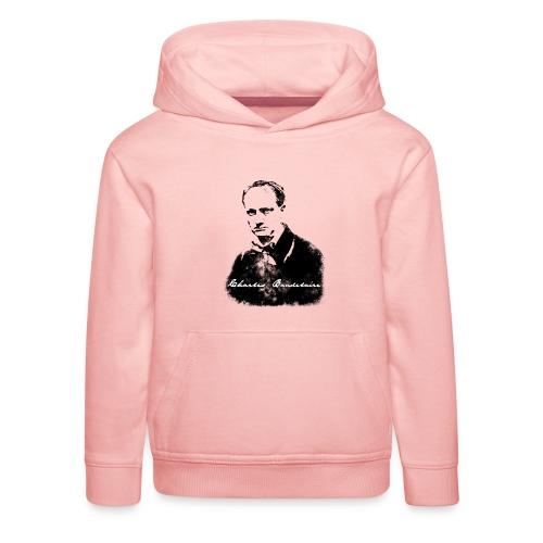 Charles Baudelaire - Pull à capuche Premium Enfant