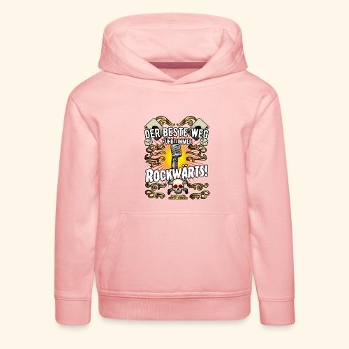Rock Music Shirt ROCKWÄRTS - Kinder Premium Hoodie