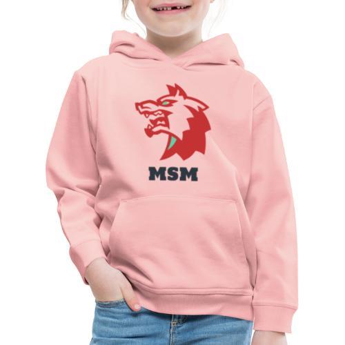 MSM WOLF - Premium hættetrøje til børn