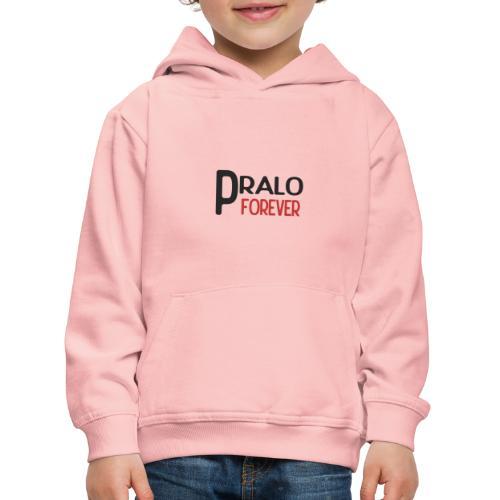 pralo forever noir et rouge - Pull à capuche Premium Enfant