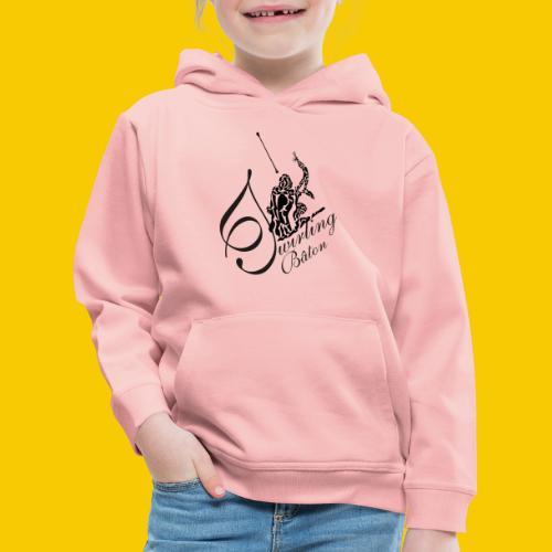 twirling b 2 - Pull à capuche Premium Enfant