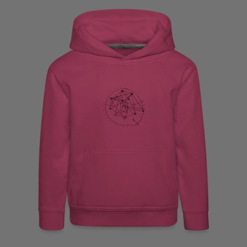 Strategia SEO nr 1 (czarny) - Bluza dziecięca z kapturem Premium