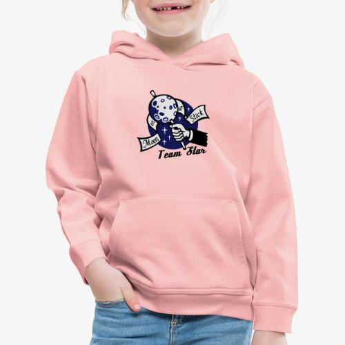 Moon on a Stick - Team Star - Kids' Premium Hoodie