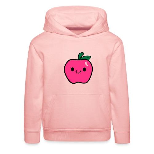 Kawaii Apfel - Kinder Premium Hoodie