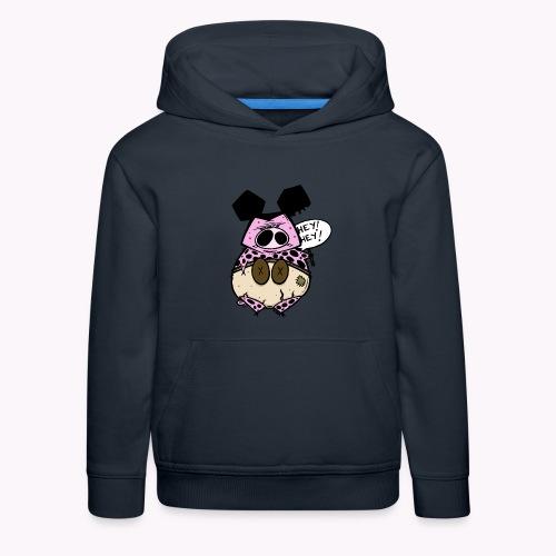 ugly pig col - Felpa con cappuccio Premium per bambini